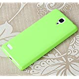 "Prevoa ® 丨 Silicona Funda Cover Caso Para Xiaomi red rice NOTE / Redmi NOTE 5.5 "" Smartphone - Verde"