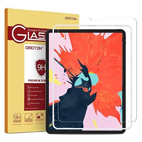 OMOTON Protector Pantalla iPad Pro 12.9 2018 Cristal