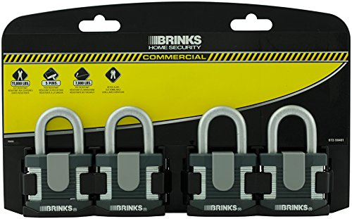 Brinks 672 - L 50401 Home Security Commercial 50 mm laminierter Stahl Lock, 4er Pack - Home-security-hardware