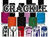 Crackle Lacke Set - 9 Farben