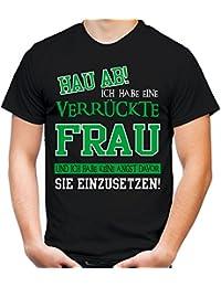 Fun T-Shirt Herren leg dich nie mit Kraftfahrer an Spruch Spaß lustig Kult LKW