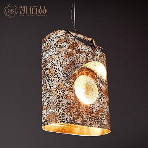 Mundgeblasenes Glas Wandlampen (BBSLT Loft de lustre industries créatives de vent Bar & Restaurant Cafe Bar de la personnalité de la Chambre d'huile de rétro - den lustre, 280 * H360MM)