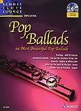 Pop Ballads +CD - Flûte/Piano