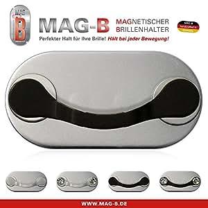 B-magnétique MAG Porte lunettes en inox (Noir)