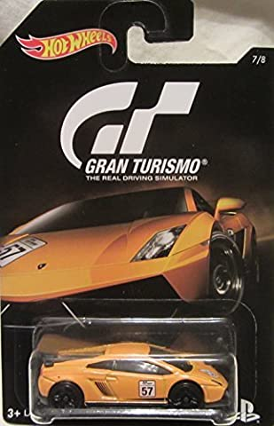 2016 Hot Wheels GRAN TURISMO LAMBORGHINI GALLARDO LP 570-4 SUPERLEGGERA Limited Edition 1:64 Scale Collectible Die Cast Metal Toy Car Model! by LAMBORGHINI
