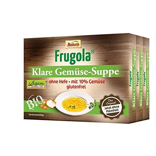 Natura Frugola Bio Klare Gemüse-Suppe ohne Hefe, 198 g