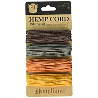 Hemptique Hemp Card (Set of 4) Harvest