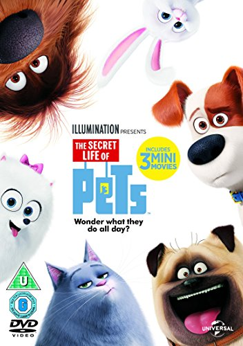 The Secret Life Of Pets (DVD + D...