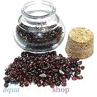 budawi® - Edelstein Granat im Dekoglas ca. 105g, echte Edelsteine getrommelt preisvergleich bei billige-tabletten.eu