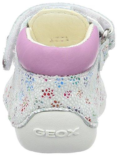 Geox Baby Mädchen B Tutim B Krabbelschuhe Pink (White/lt Pinkc0814)