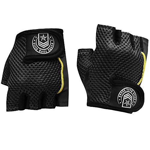 Womens-Weight-Lifting-Gloves-Top-Quality-Ladies-Fingerless-Gloves-Double-Stitched-Gym-Wear-For-Strength-Easy-Breathe-Lycra-Mesh-On-Back-Of-Hand-Quick-Fasten-Finger-Tab-To-Tighten-Remove-Gloves-Easily-