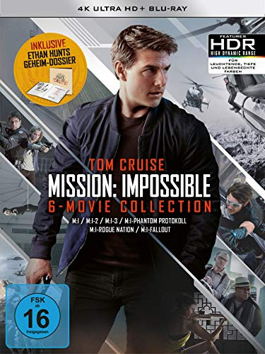 Mission: Impossible The 6 Movie Collection - Limited Boxset 4K UHD [Blu-ray] (exklusiv bei amazon.de)