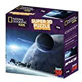 Space - Earth and Moon Super 3D Puzzle