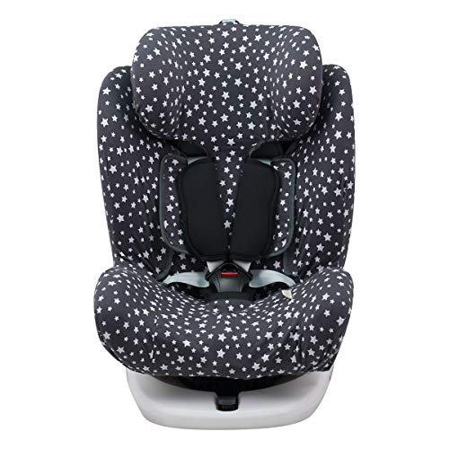 JANABEBE Funda para Star Ibaby, Baby Auto Fix Noe WINTER SKY
