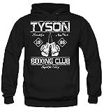 uglyshirt89 Tyson Boxing Club Kapuzenpullover | Männer | Herren | Vollkontakt | Boxen | Boxing | Boxer | MMA | Fight | Gym | Sport | Film | Kult (M)