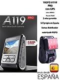 VIOFO A119 Pro CON GPS Dash Cam Condensador AR0521 Sensor 7G F1.8 Dashcam HD 1080P (with GPS mount) Cámara de salpicadero de coche Grabación de vídeo