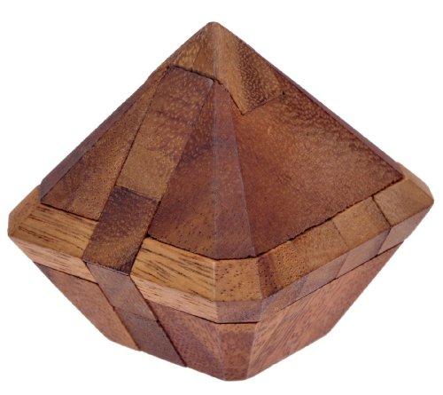 Juwel - 3D Puzzle - Denkspiel - Knobelspiel - Geduldspiel - Logikspiel aus Holz