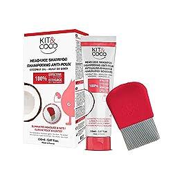 Komplettes Behandlungs-Set Gegen Kopläuse und Nissen 150ml