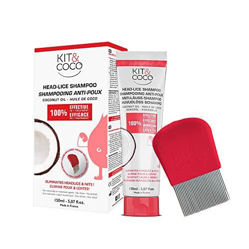 Komplettes Behandlungs-Set gegen Kopfläuse und Nissen