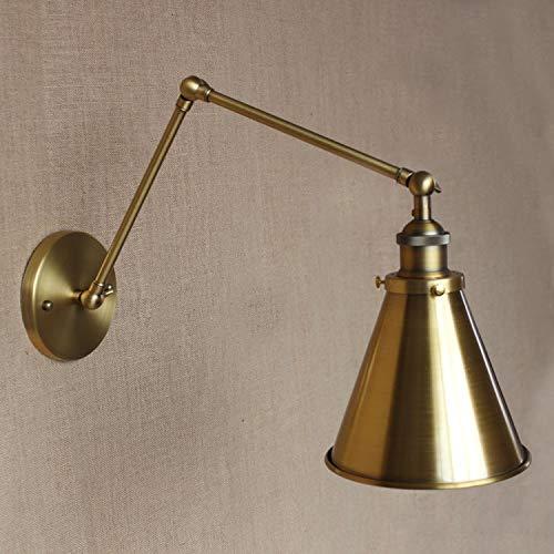 Wandleuchte Messing Retro Industrie Vintage Wand Lampe Leuchten Leuchte Swing Long Arm Wandleuchte Wandleuchte Edison -