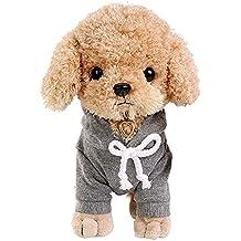 Juguete relleno animal lindo juguete realista del perro del caniche