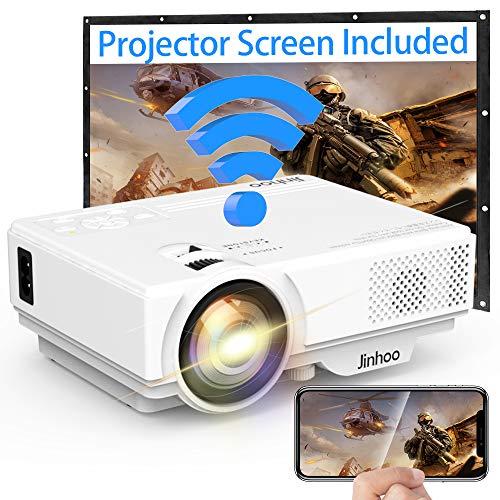 WIFI Projector Jinhoo Upgraded 4...
