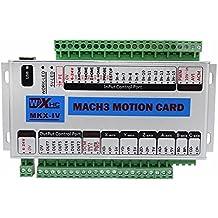 KEHUASHINA Mach3 4 Axis CNC Movimiento Motion Tarjeta USB Breakout 400KHz Soporte Windows7