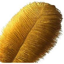 10 plumas de avestruz Sowder de 30 a 35 cm para la decoración ...