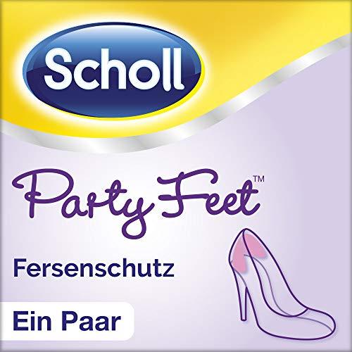 Scholl Party Feet Fersenschutz - Rutschfeste Geleinlage mit GelActiv Technologie für fast alle Damenschuhe - 1 Paar selbstklebende Geleinlagen