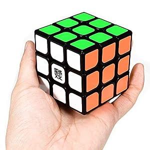 ROXENDA Moyu Aolong Profesional Cubo Mágico 3x3x3 Puzzle Cubo de la Velocidad V2 Juguetes clásicos (T1)