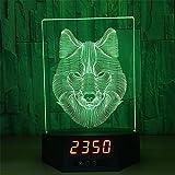 Die besten Romantische Zeit Schreibtischlampen - XYDM Nachtlicht 3D Fernbedienung Acryl Schreibtischlampe 7 Farbe Bewertungen