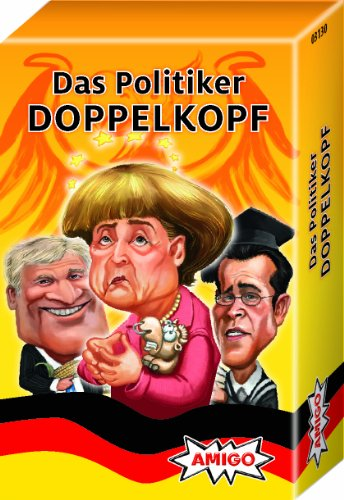 Amigo 03130 - Das Politiker Doppelkopf MBE5