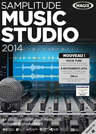 Magix Samplitude Music Studio 2014 [Téléchargement]
