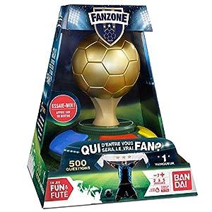 Bandai Funs & Futés-FanZone ZZ06209 - Juego de fútbol Interactivo para Familia y Amigos, Idioma español no garantizado