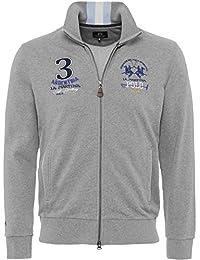 La Martina Hommes sweatshirt zip-par javi Gris