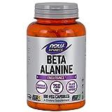 NOW Foods Beta-Alanine 750mg, 120 Capsules