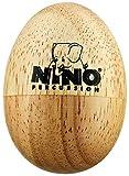 Nino Percussion NINO562 - Shaker a uovo, in legno, misura: S