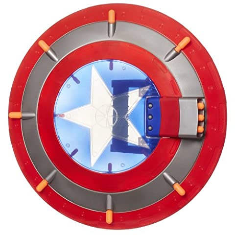 Marvel The Avengers Concept Series Captain America Triple Blast Shield by Avengers TOY (English Manual)