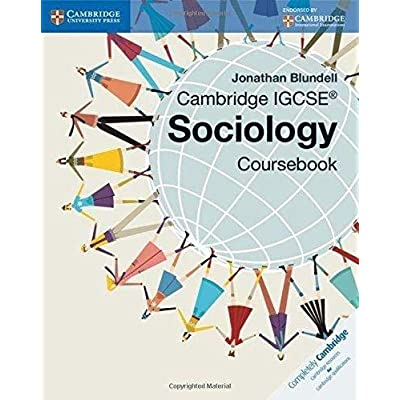 Cambridge Igcse® Sociology Coursebook [Lingua Inglese]