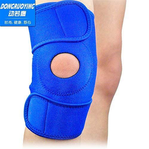 Kniebandage,Fahrrad-Ausrüstungssport-Knieschützer im Freien laufender einzelner Code, blau
