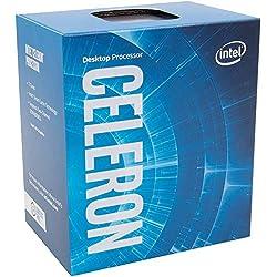 Intel BX80677G3930 Processore Celeron G3930, S 1151, Kaby Lake, Dual Core, 2 Thread, 2.9GHz, 2MB Cache, 1050MHz GPU, 51W, Argento