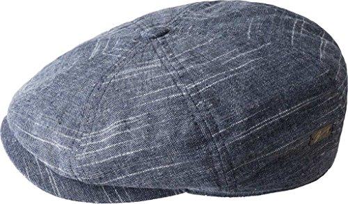 Casquette Stokey Bailey of Hollywood gorra de lino gorra de algodón Bleu