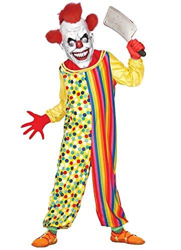 Clown Mörder Kinder Kostüm - Disfrazjaiak Kostüm clown kinder-Mörder - de 10 a 12 años