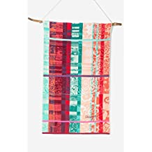 Desigual towel Shower Jacq Love Tartan, Cotton, ocralo, 150x95x0,5 cm