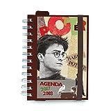 Grupo Erik Editores Schülerkalender Harry Potter 2017/2018, Tagesansicht, personalisierbar