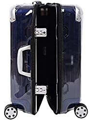Ankoy Transparent Suitcase PVC Case Cover for RIMOWA Salas Deluxe Multiwheel