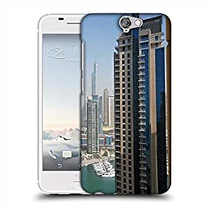 Snoogg Tall Buildings Designer Protective Phone Back Case Cover For HTC one A9