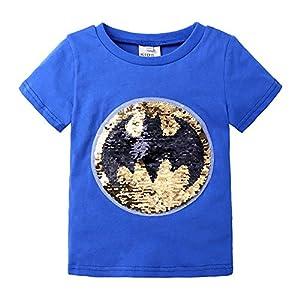 Superman Flip Sequin Magic Camiseta