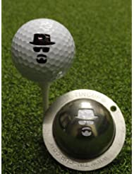 TIN CUP. GOLF BALL MARKING SYSTEM. INCOGNITO by Tin Cup