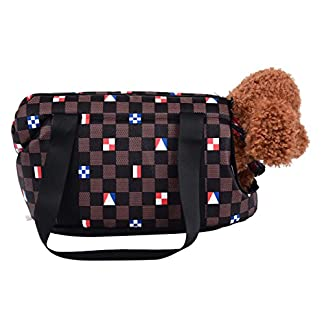 FORET TERRAIN Hand Bag or Shoulder Bag for transporting small dogs or cats petits 51pVLyFux8L